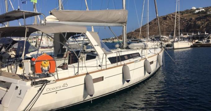 Verhuur Zeilboot in Mykonos (Island) - Bénéteau Oceanis 45