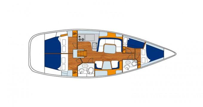 Bootverhuur Jeanneau Sun Odyssey 43 in Paros via SamBoat