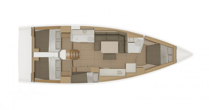 Dufour Dufour 430 Grand Large te huur van particulier of professional in Lefkada (Island)