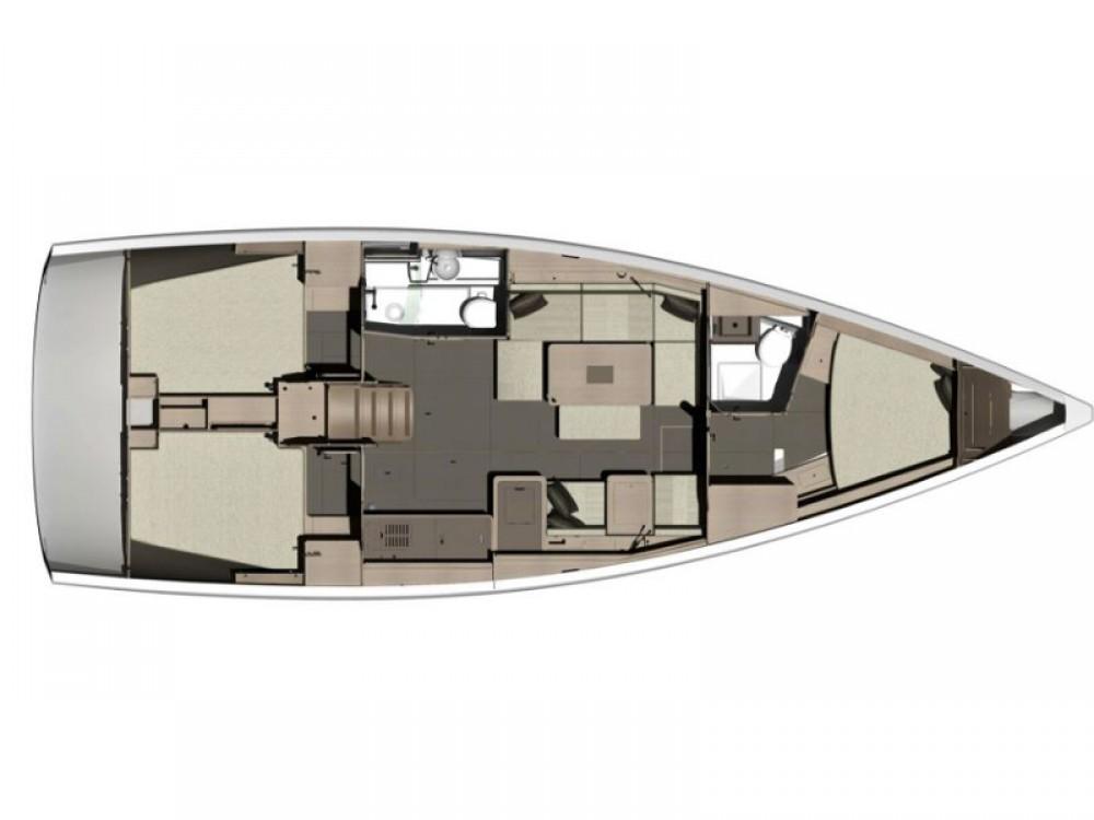 Verhuur Zeilboot in Marina de Alimos - Dufour Dufour 412 Grand Large
