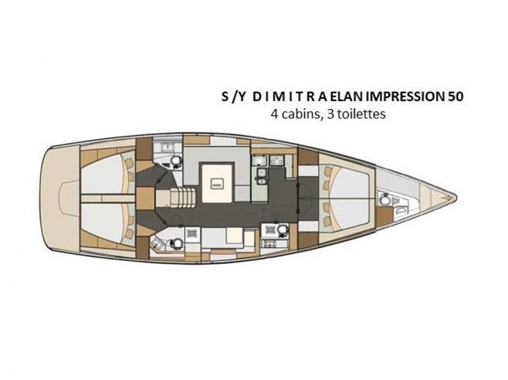 Jachthuur in Álimos - Elan Elan 50 Impression via SamBoat