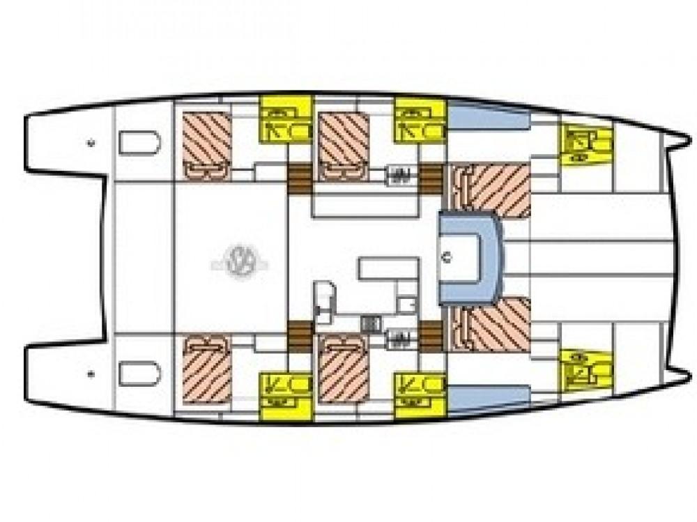 Jachthuur in Victoria - Catlante Catlante 600 - incl. crew & full board via SamBoat