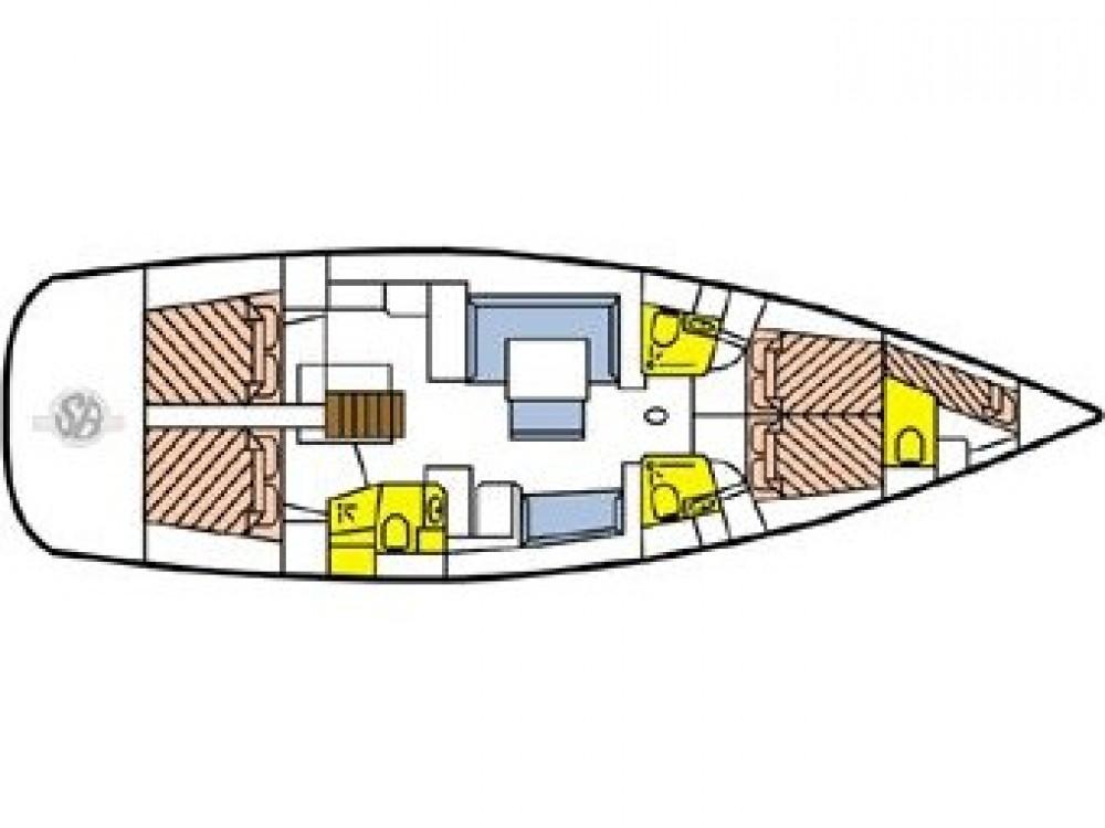 Jachthuur in Le Marin - Bénéteau Oceanis 54 via SamBoat