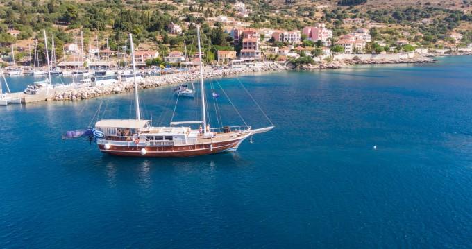 Verhuur Zeilboot in Athene -  Gulet Aphrodite