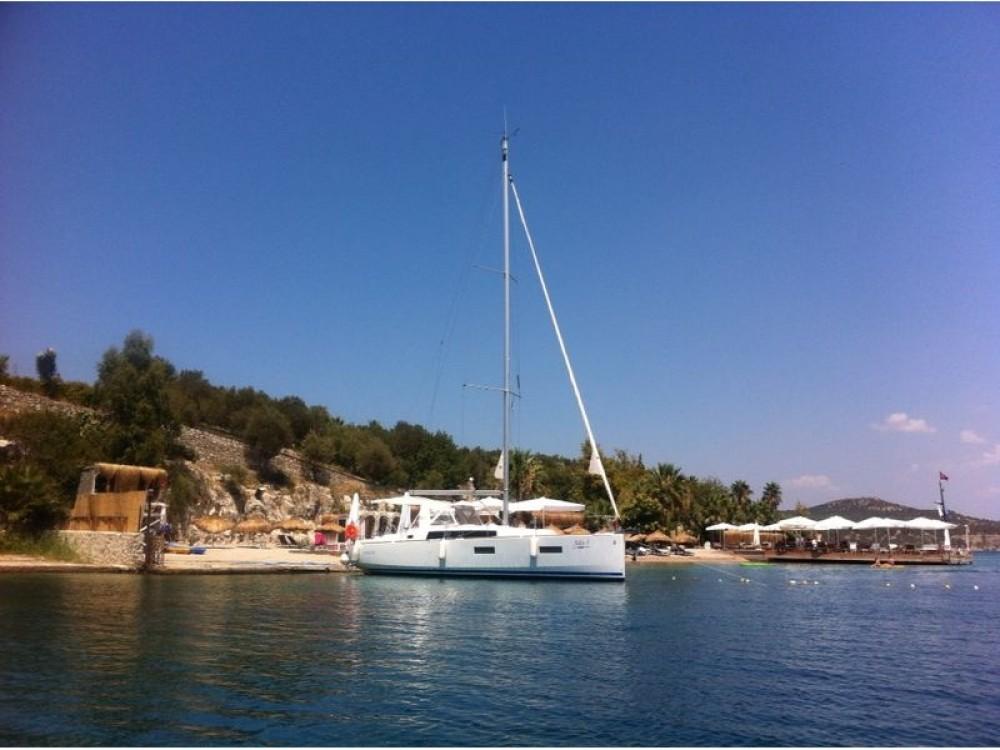 Verhuur Zeilboot in Marmaris - Bénéteau Beneteau - Oceanis 38