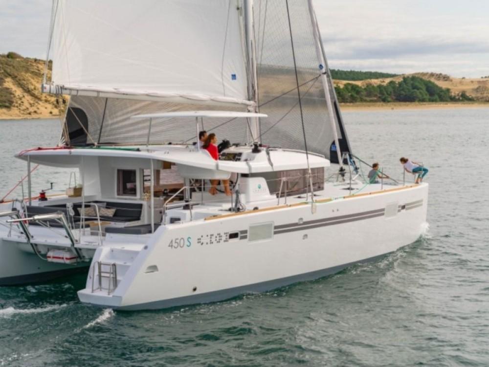 Verhuur Catamaran in Marina Gouvia - Lagoon Lagoon 450 Sport