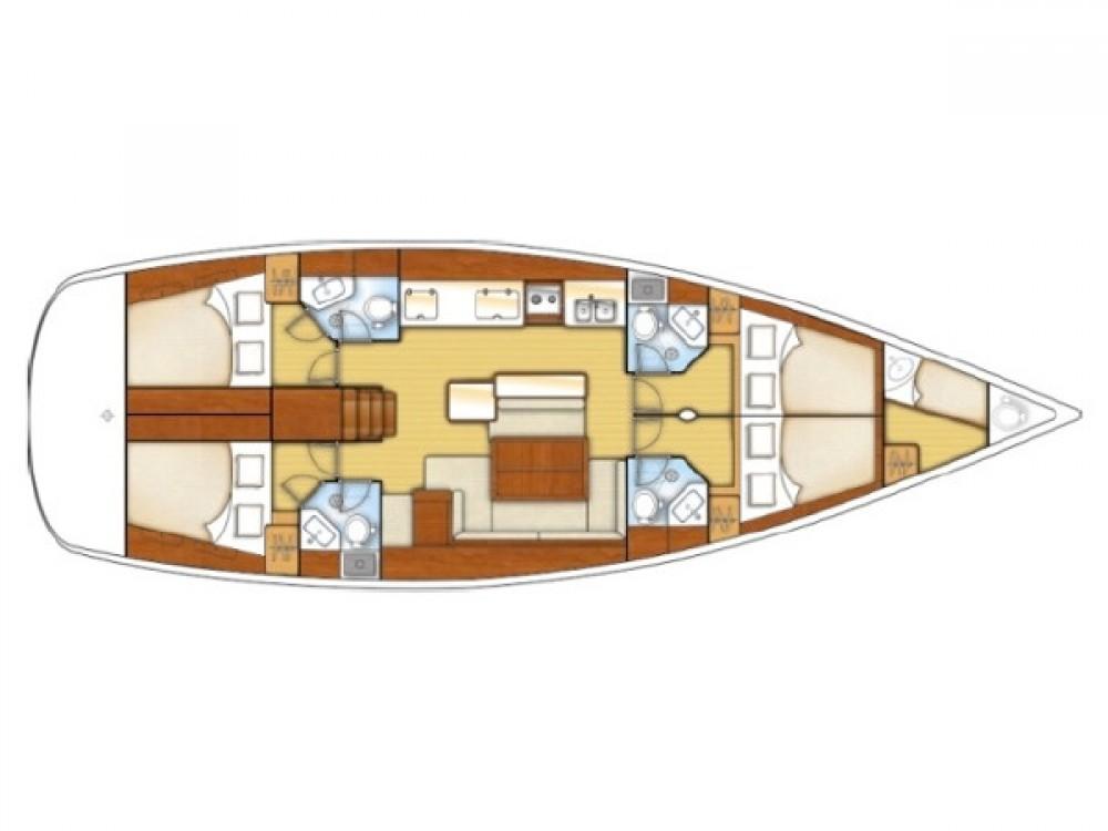 Bootverhuur Marmaris goedkoop Beneteau Oceanis 50