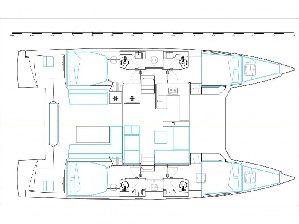 Jachthuur in Préveza - Nautitech Nautitech 46 Fly via SamBoat