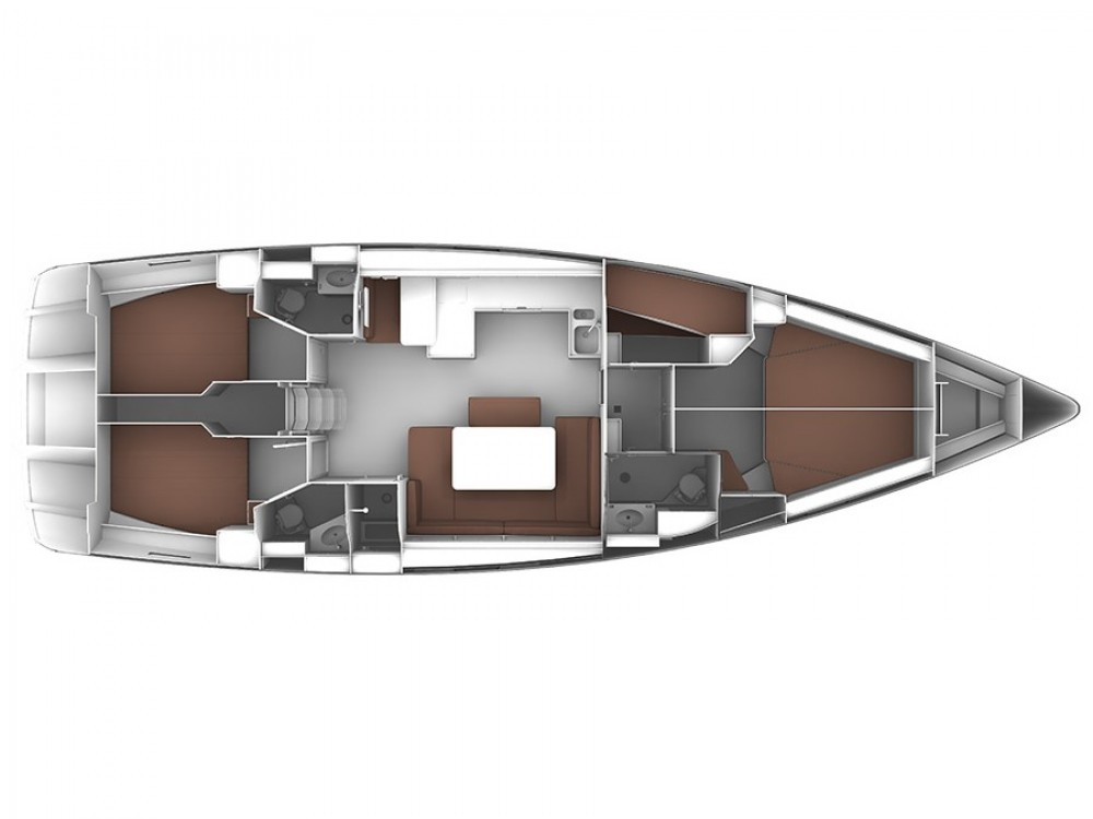 Bootverhuur Bavaria Bavaria Cruiser 51 in Marina Gouvia via SamBoat