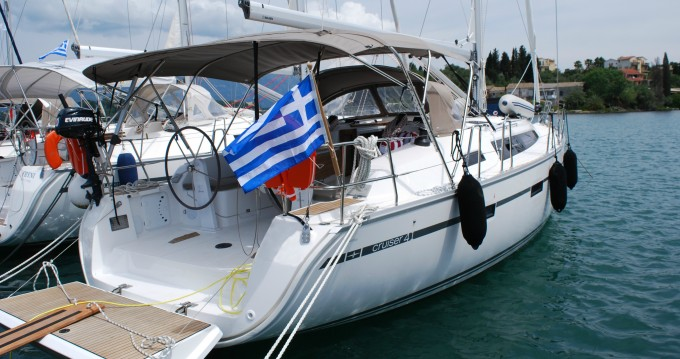 Verhuur Zeilboot in Göcek - Bavaria Cruiser 41