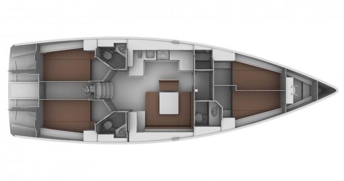 Bavaria Cruiser 45 te huur van particulier of professional in Gouviá