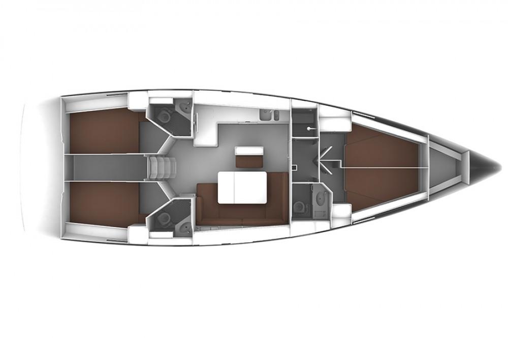 Huur Zeilboot met of zonder schipper Bavaria in Kontokali