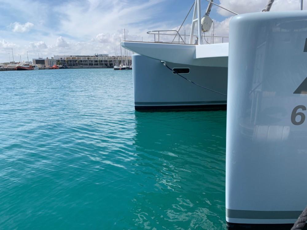 Verhuur Catamaran in Sant Antoni de Portmany - Sunreef Sunreef 62