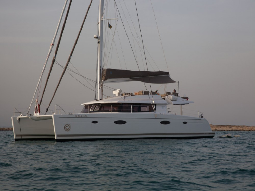 Verhuur Catamaran in Yaiza - Fountaine Pajot Victoria 67