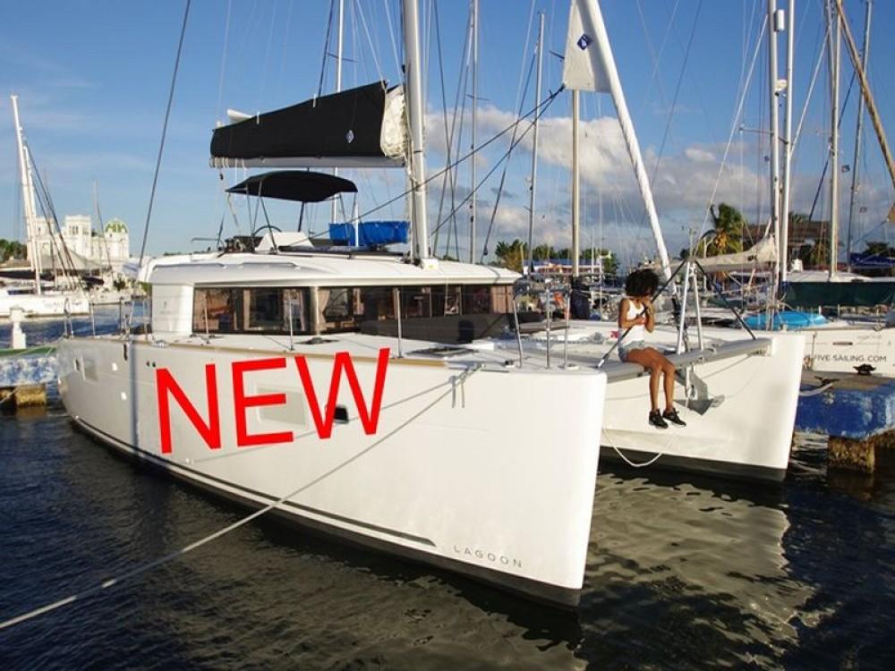 Huur Catamaran met of zonder schipper Lagoon in