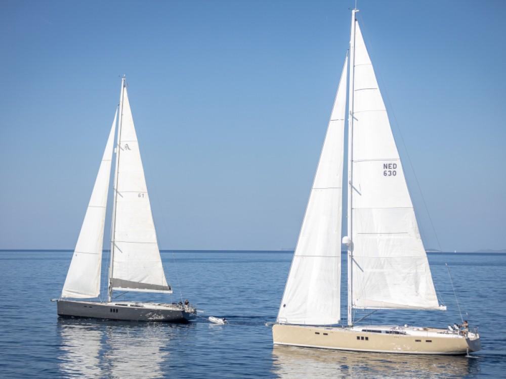 Verhuur Zeilboot in Rogoznica - Hanse Hanse 630