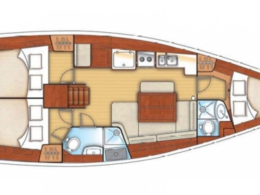 Bootverhuur Bénéteau Oceanis 40 in Reimerswaal via SamBoat