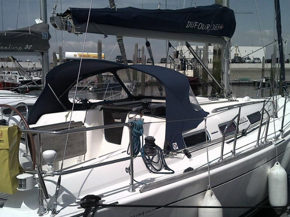 Verhuur Zeilboot Dufour met vaarbewijs