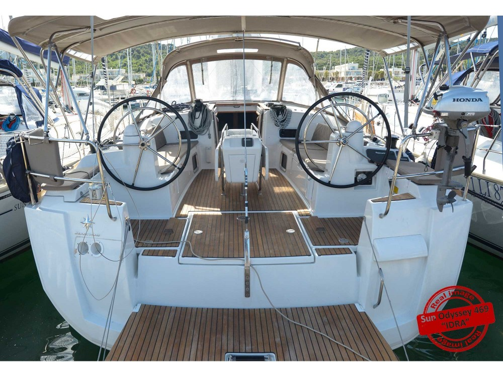 Huur een Jeanneau Sun Odyssey 469 in Follonica