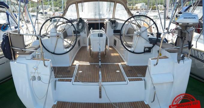 Verhuur Zeilboot in Follonica - Jeanneau Sun Odyssey 469