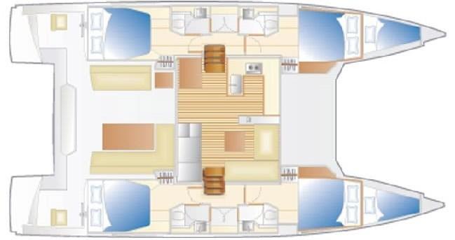 Huur Catamaran met of zonder schipper Nautitech in Cannigione