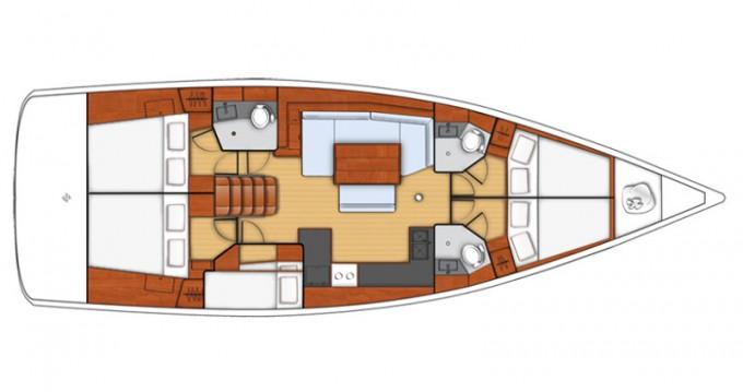 Verhuur Zeilboot in Follonica - Bénéteau Oceanis 48
