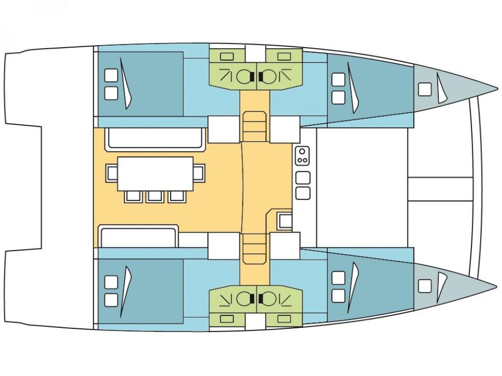 Huur Catamaran met of zonder schipper Bali in Leucade