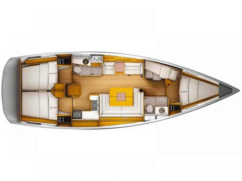 Verhuur Zeilboot in Nettuno - Jeanneau Sun Odyssey 449