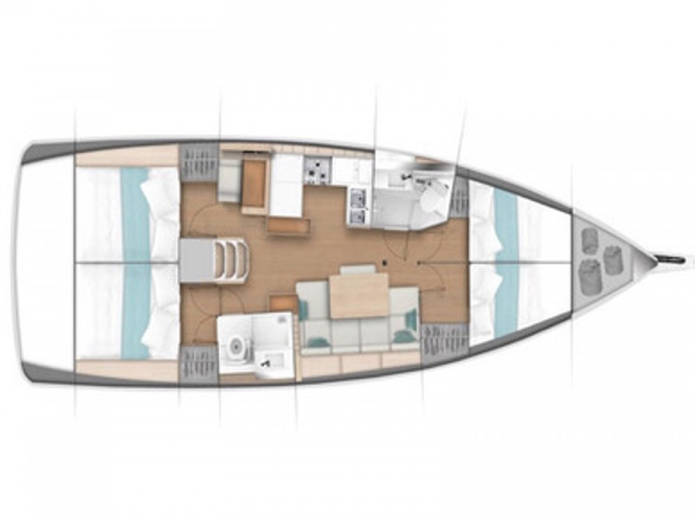 Bootverhuur Jeanneau Sun Odyssey 440 in Nettuno via SamBoat