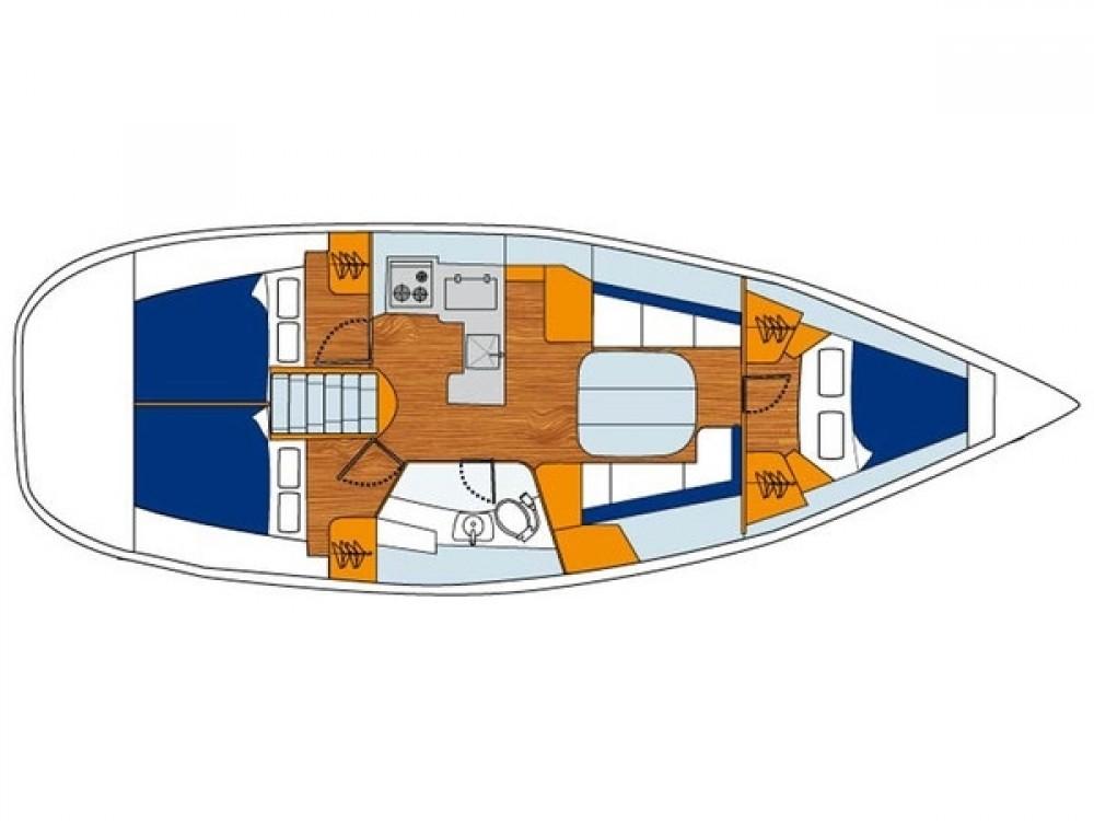 Huur Zeilboot met of zonder schipper Bénéteau in Bursa