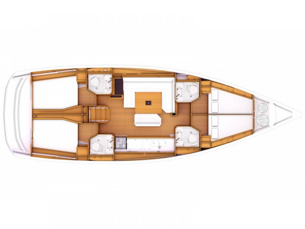 Jachthuur in Orhaniye - Jeanneau Sun Odyssey 479 via SamBoat