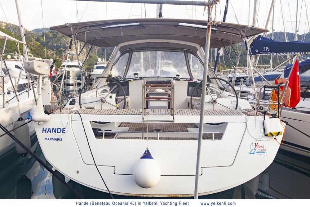Verhuur Zeilboot in Orhaniye - Bénéteau Oceanis 45 (2018)