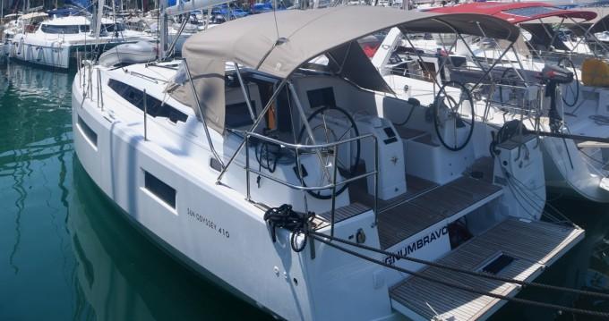 Jeanneau Sun Odyssey 410 te huur van particulier of professional in Dubrovnik