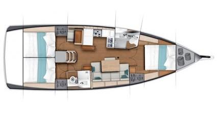 Verhuur Zeilboot in Split - Jeanneau Sun Odyssey 440
