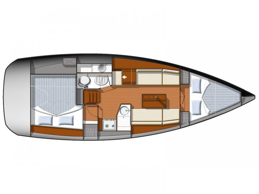 Huur een Jeanneau Sun Odyssey 33i in Split