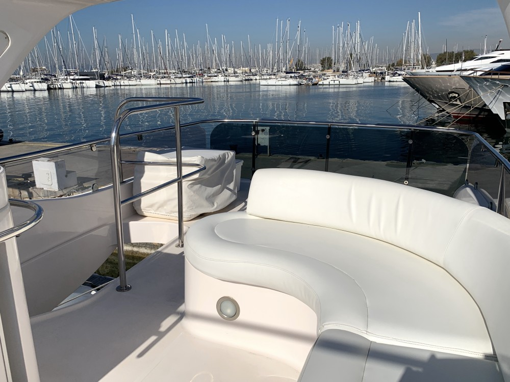 Gulf Craft Majesty 50 Fly te huur van particulier of professional in Marina de Alimos