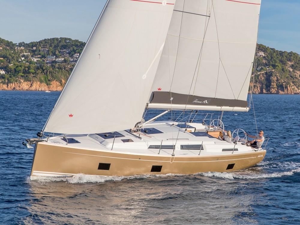Huur Zeilboot met of zonder schipper Hanse in Preveza