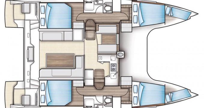 Verhuur Catamaran in Álimos - Nautitech Nautitech Open 40