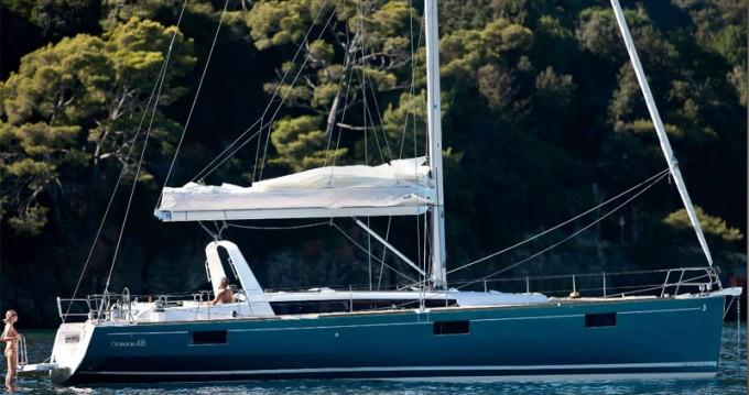 Verhuur Zeilboot in Álimos - Bénéteau Oceanis 48