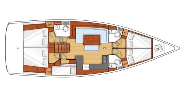 Bénéteau Oceanis 48 te huur van particulier of professional in Álimos