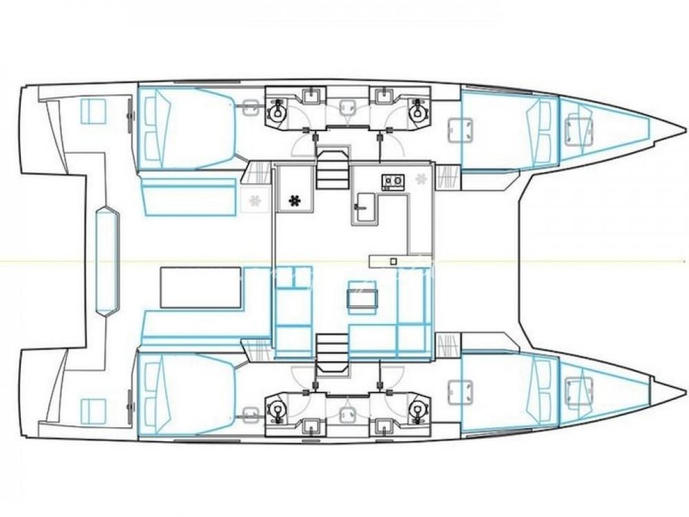 Jachthuur in Marina de Alimos - Nautitech Nautitech 46 Fly via SamBoat