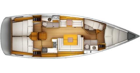 Jachthuur in Athene - Jeanneau Sun Odyssey 439 via SamBoat