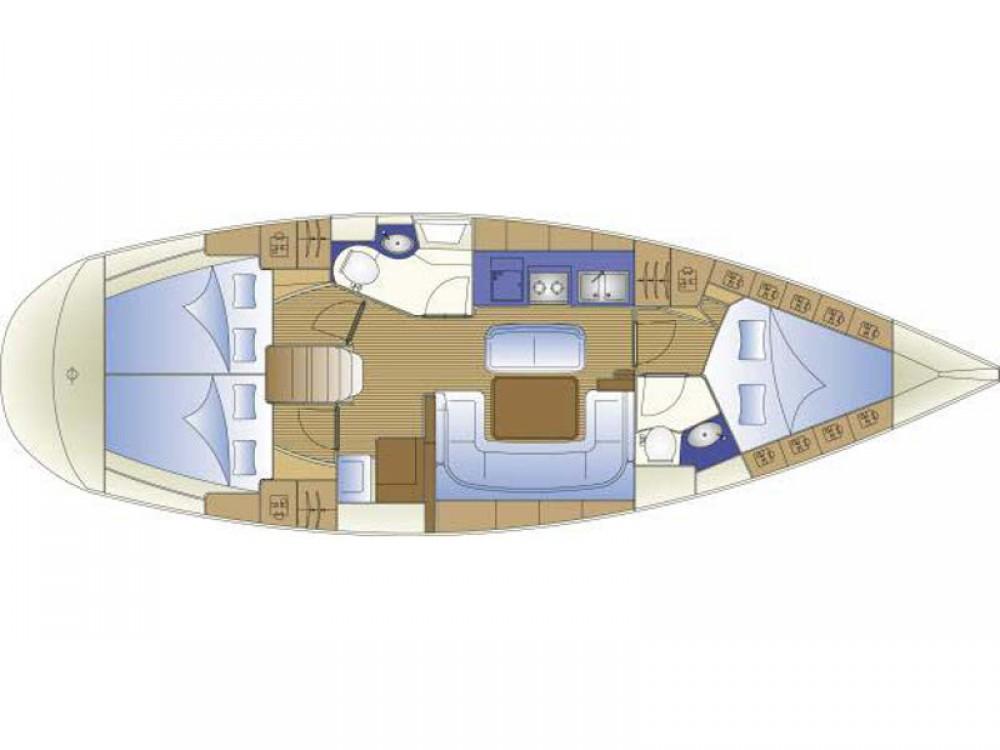 Bootverhuur Bavaria Bavaria 40 Cruiser in Álimos via SamBoat