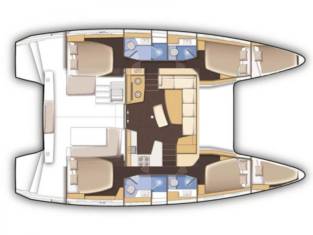 Huur Catamaran met of zonder schipper Lagoon in Kos