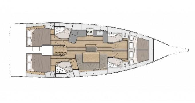 Jachthuur in Split - Bénéteau Oceanis 46.1 via SamBoat