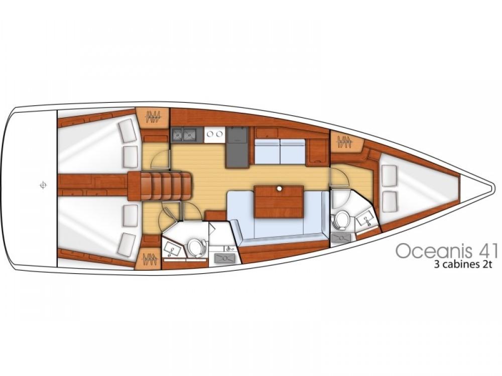Verhuur Zeilboot in Pomer - Bénéteau Oceanis 41
