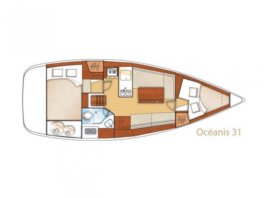 Bootverhuur Bénéteau Oceanis 31 in  via SamBoat