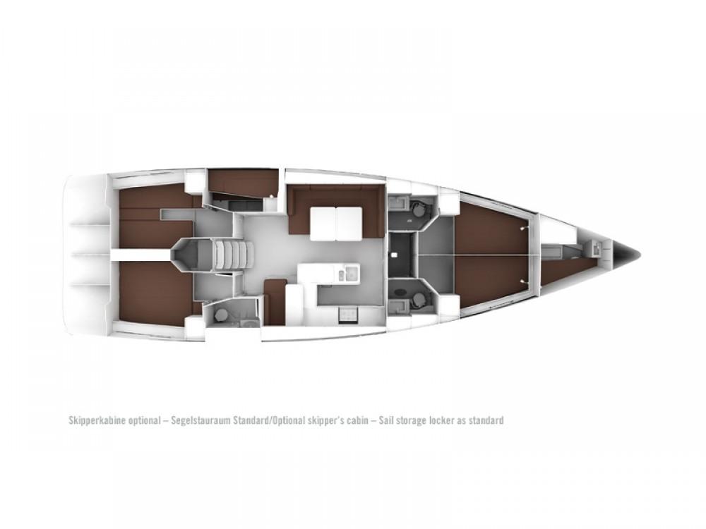 Verhuur Zeilboot in Marina de Alimos - Bavaria Bavaria Cruiser 56