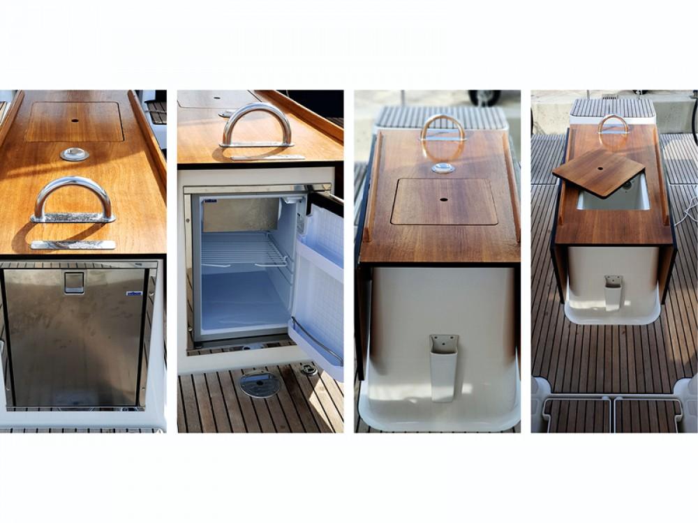 Verhuur Zeilboot in Rogoznica - Dufour Dufour 500 Grand Large