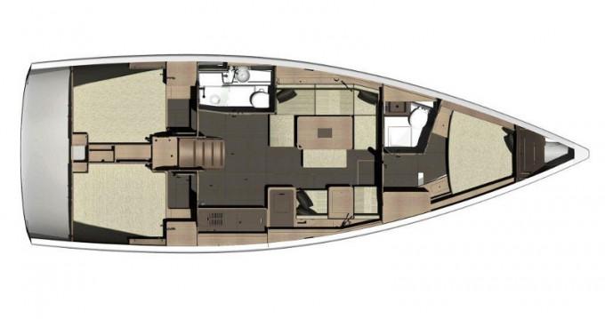 Verhuur Zeilboot in Rogoznica - Dufour Dufour 410 Grand Large